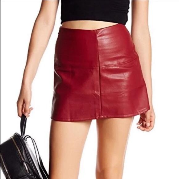 Jolt Dresses & Skirts - Nordstrom faux leather skirt